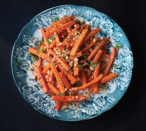 Glazed Carrot Salad by Bryant Terry