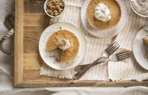 Mini Pumpkin Pies by Oh She Glows