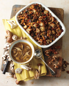 Driet Fruit and Toasted Nut Stuffing by Martha Stewart