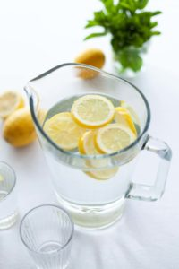 spring clean_lemon water